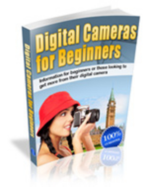 Product picture Digital Cameras for Beginners- Guide to learn photography